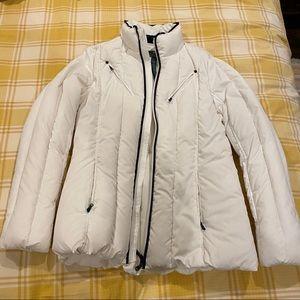 White Ralph Lauren puffer jacket